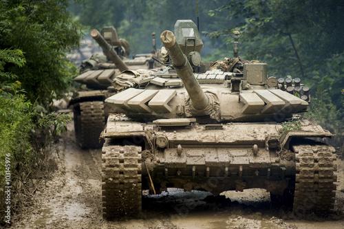 Valokuva Russian tank T-90