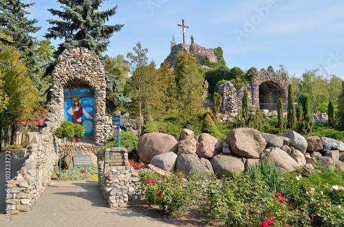 Tableau sur Toile Golgota i Droga Krzyżowa w Sanktuarium Maryjnym w Licheniu