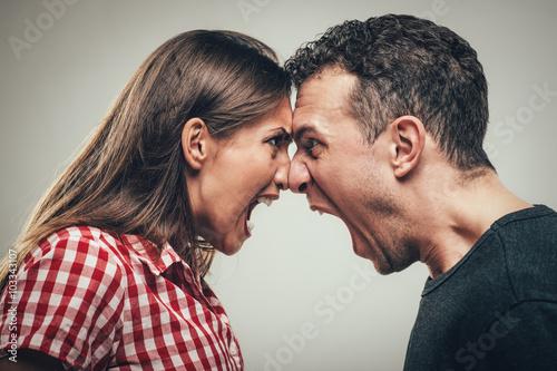 Tela Angry Couple