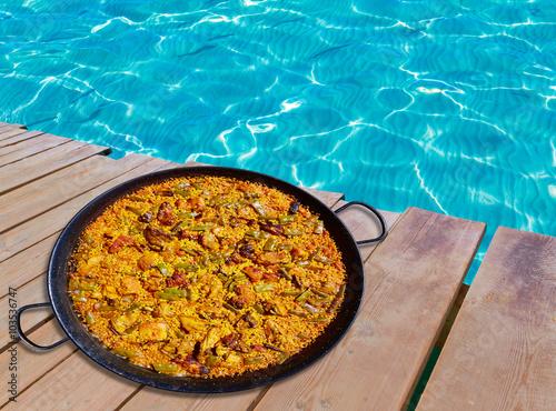 Paella from Spain rice recipe