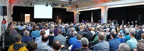 Fotografie, Tablou Konferenz Saal