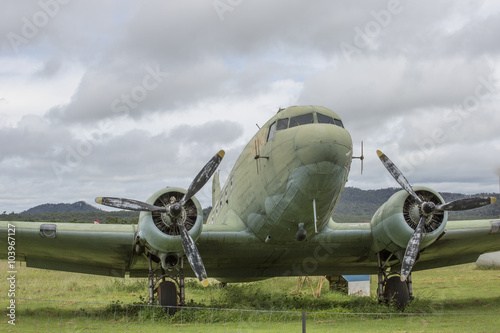 Fototapeta Dakota DC3 Military Aircraft