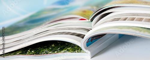 Canvas Print Zeitschriften