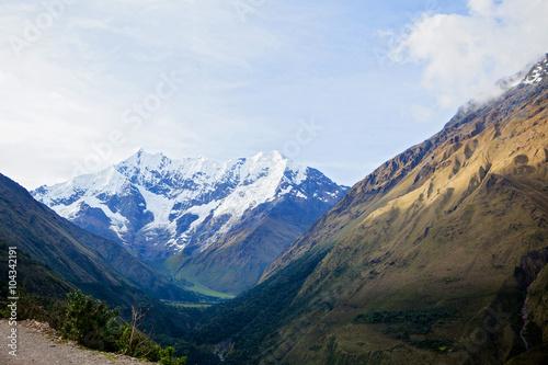 Wallpaper Mural Mountains on Salkantay Trek in Peru