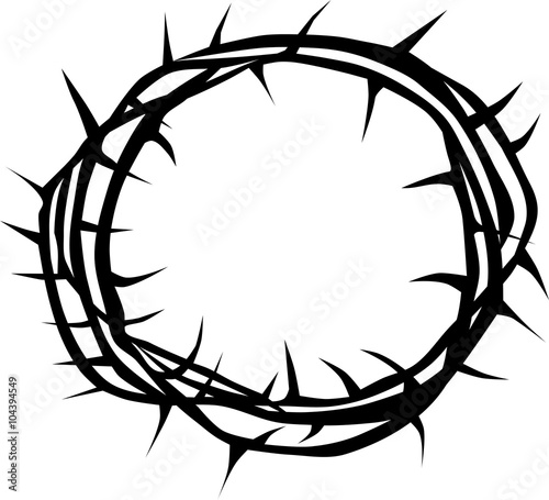 Carta da parati Crown of thorns