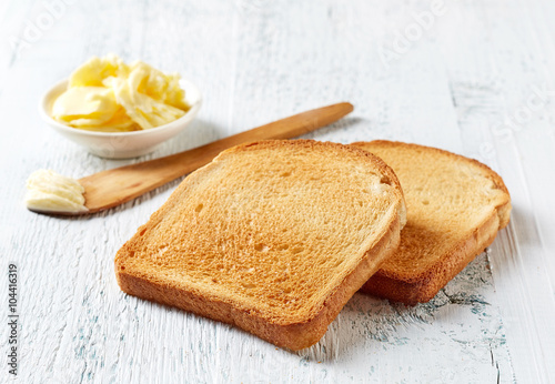 Sliced Toast Bread фототапет