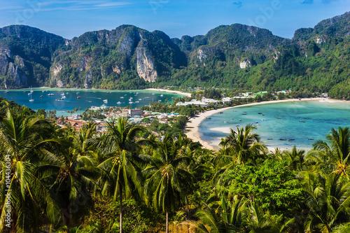 Beautiful view of Phi Phi island фототапет