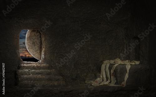 Empty Tomb of Jesus Fototapeta