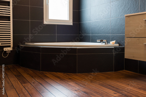 Fotografija salle de bain ardoise