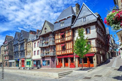 Fotografia Historical city center of Lannion, Brittany, France