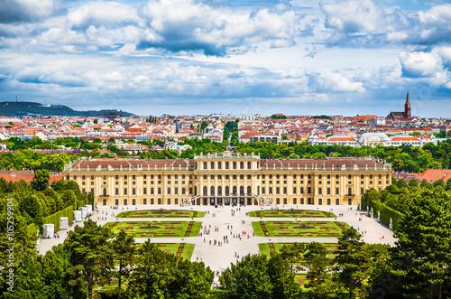 Fototapeta premium Schloss Schonbrunn, Wiedeń, Austria