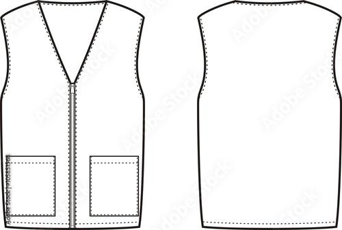 Canvas Print Vest