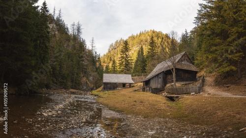 Old Mill in Kvacianska Dolina, Slovakia