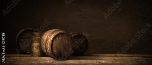Canvas-taulu background of barrel