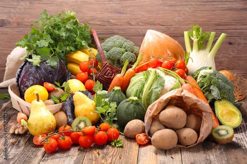 Fototapete fruit and vegetable