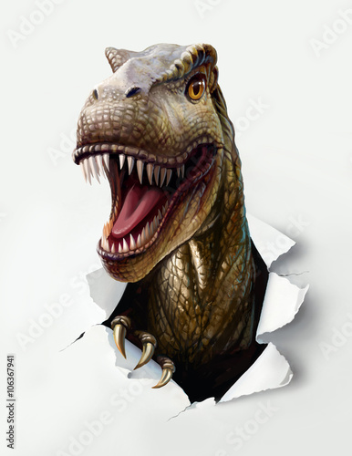 Leinwand Poster dinosaur