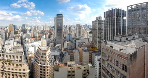 Vista do terraço do edifício Martinelli