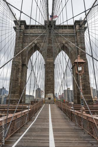 Fototapeta premium Słynny Most Brookliński w Nowym Jorku