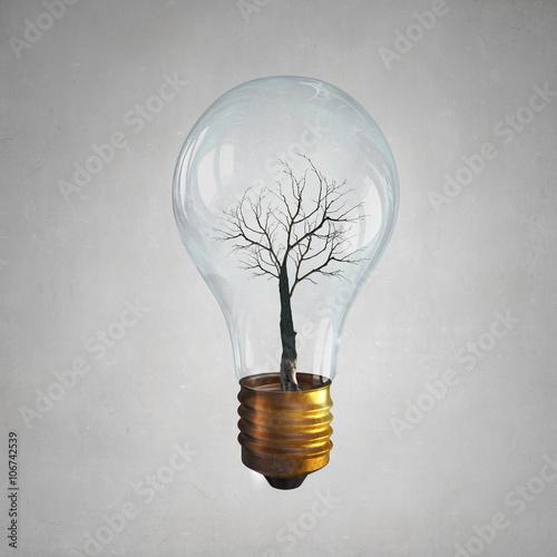 Canvas Print Alternative energy use