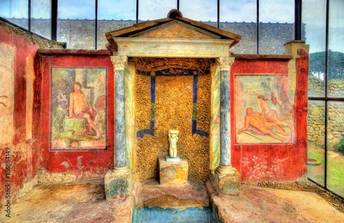 Photo Paintings in the House of Loreius Tiburtinus - Pompeii