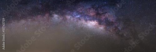 Obraz na plátně Panorama Mléčné dráze nalézt na obloze v Thajsku
