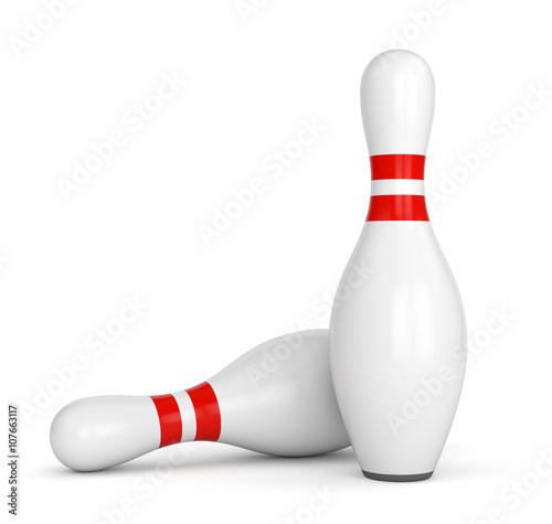 Cuadros en Lienzo Two bowling pins