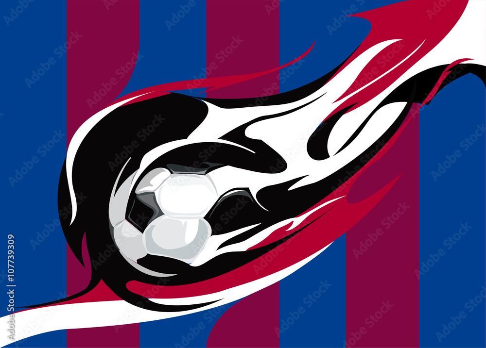 Barcelona klub piłkarski <span>plik: #107739309 | autor: evgeniya17</span>
