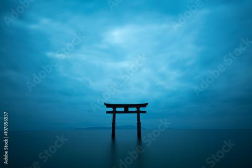 Photo Shirahige shrine,takashima city,shiga,japan