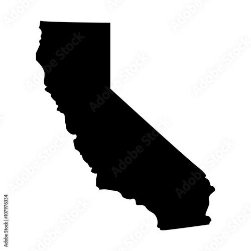 Vászonkép Territory of  California