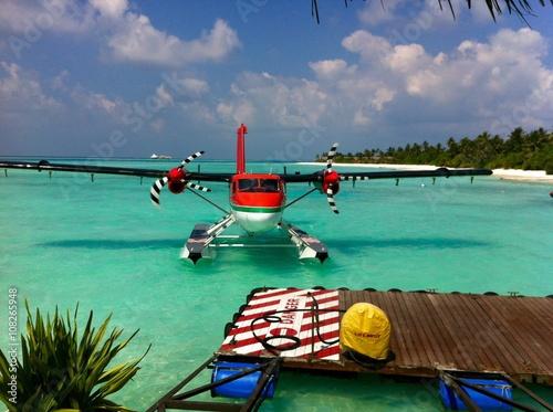 Fotografia Landung im Paradies