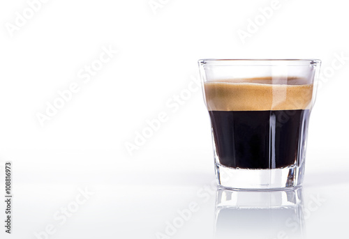 Cup of espresso coffee Fototapeta