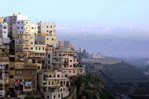 Panorama of Tripoli, Lebanon