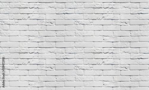 Naklejki na meble Bezszwowy wzór ścienny z białej cegły
