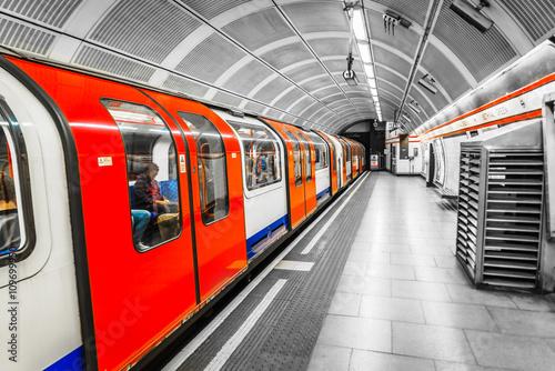 London Tube Fototapeta