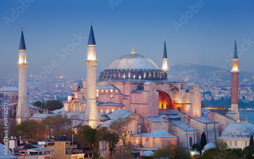 Valokuvatapetti Hagia Sophia museum