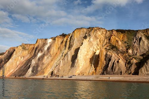 Canvas Print Alum Bay Isle of Wight