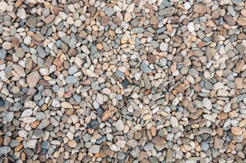 Fotografia Background made of multicolored pebbles