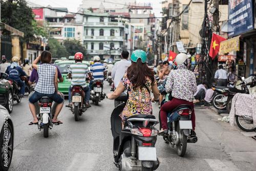 Hanoi on a Busy Day