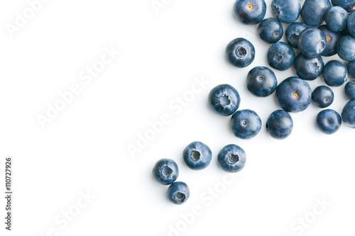 Fototapeta Tasty blueberries fruit.