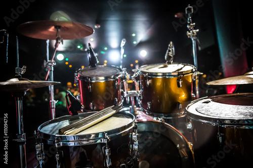 Drum on stage Tapéta, Fotótapéta
