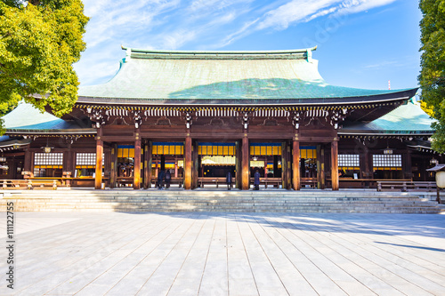 Fototapeta Meiji svatyně v Tokiu v Japonsku