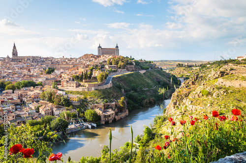 Toledo at the mirador.