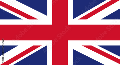 Canvas Print UK flag