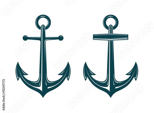 Fotografia Vector image of anchor