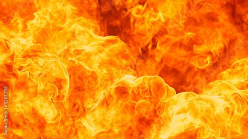 Obraz na płótnie blaze fire flame texture background