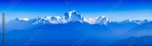 Fotografia Sunrise at Himalayas