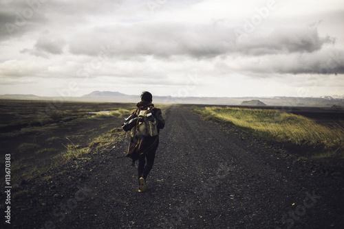 Fototapeta Paysages désertiques Islandais