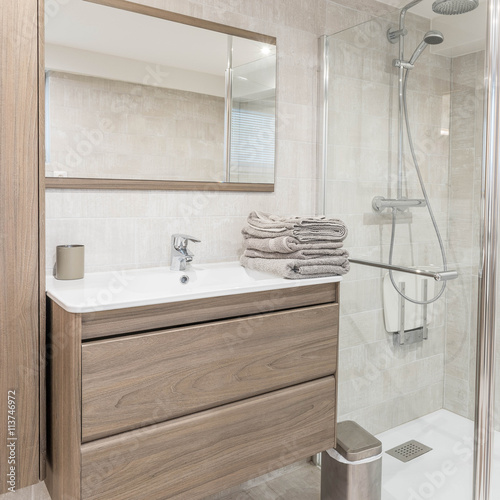 Petite salle de bain Fototapeta