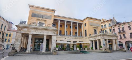 Photo Square of Cappellato Pedrocchi view on restaurant , Padova, italy