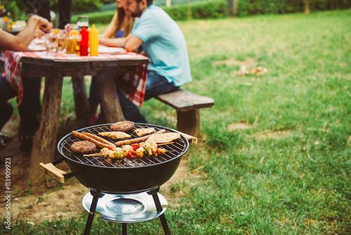 Time for barbecue Fototapeta